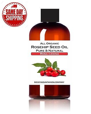 PREMIUM SELECT ORGANIC ROSEHIP SEED OIL PURE & NATURAL 1 2 4 8 16 oz