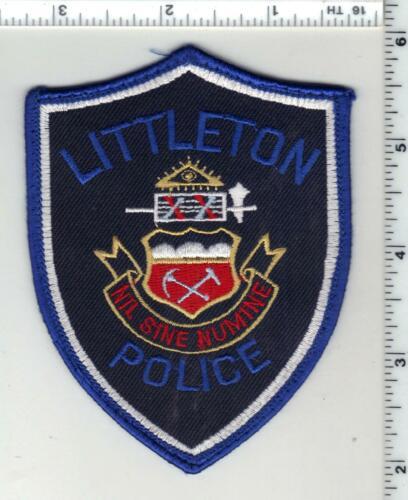 Littleton Police (Colorado) 3rd Issue Uniform Take-Off Shoulder Patch