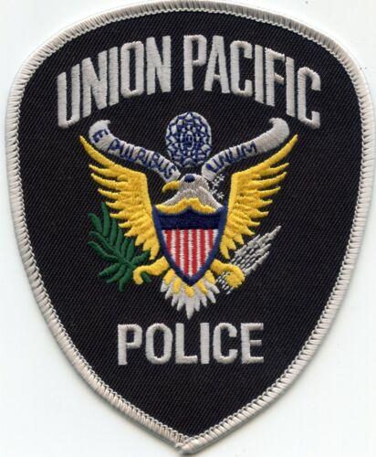 UNION PACIFIC RAILROAD OMAHA NEBRASKA TRAIN POLICE PATCH