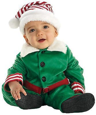 INFANT TODDLER BABY SANTAS LIL HELPER ELF CHRISTMAS COSTUME DRESS UR26040 Santas Lil Elf