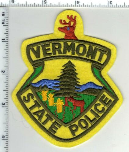 State Police (Vermont) 3rd Issue Shoulder Patch from the 1980
