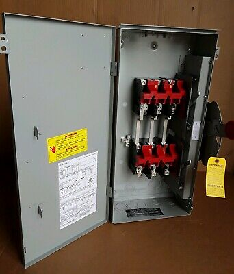 Dt363urk Eaton Transfer Switch Double Trow 3p 600v 100a Non Fusible Exterior New