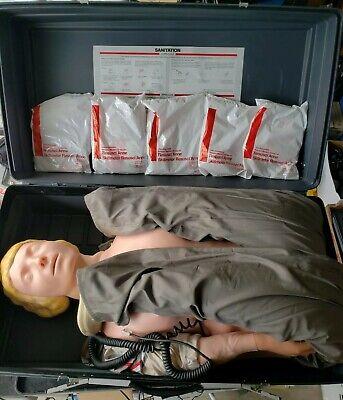 Laerdal Resusci Anne Skillmeter Full Body Cpr First Aid Training Manikin Emt