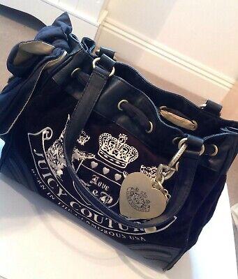 Juicy Couture Black Bag