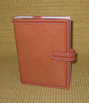 Clutch Franklin Covey Orange Leather Photo Album Matches Plannerbinder