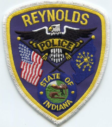 REYNOLDS INDIANA IN POLICE PATCH
