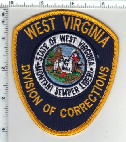 Division of Corrections (West Virginia) 2nd Issue Shoulder Patch