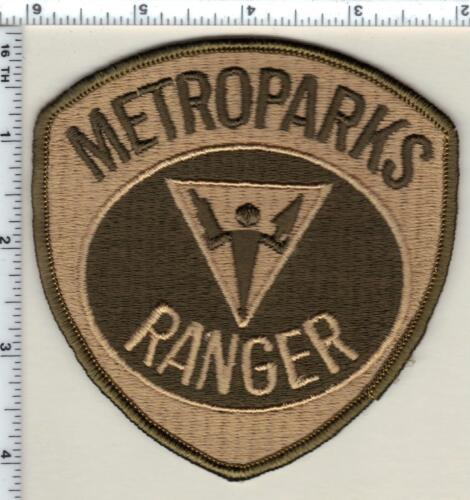 Metroparks Ranger (Michigan) Shoulder Patch from 1992