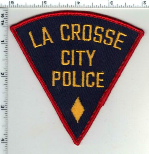 La Crosse City Police (Wisconsin) 1st Issue Shoulder Patch