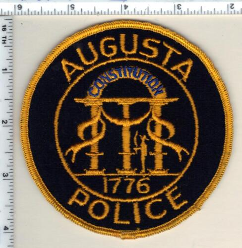 Augusta Police (Georgia) Shoulder Patch - new from 1992