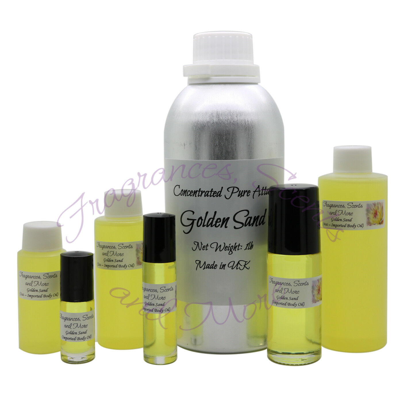 golden sand concentrated pure attar imported body