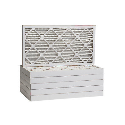 16x30x2 Dust and Pollen Merv 8 Replacement AC Furnace Air Filter (6 Pack)