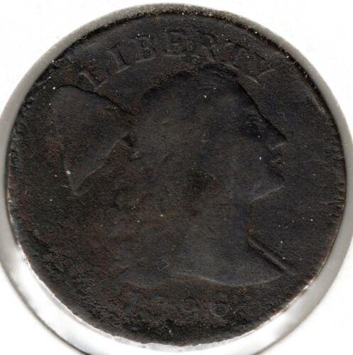 1796 Liberty Cap Large Cent - VG+