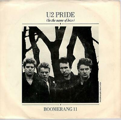 U2: Pride ( In The Name Of Love ) / Boomerang II, 7 in Record w/ Photo Sleeve