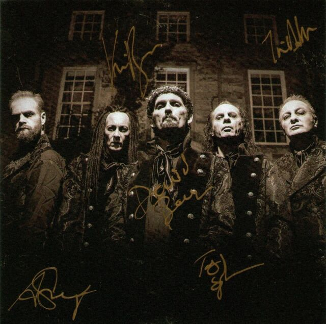 HELL Curse & Chapter SIGNED Ltd Deluxe CD+DVD Digipak *New/Sealed* Autographed