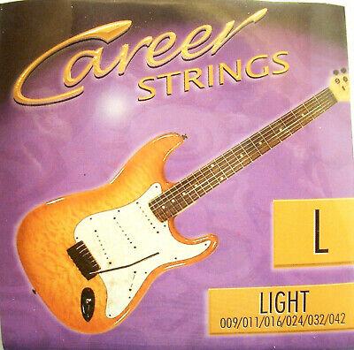 Career Cuerdas de Guitarra Eléctrica Light 009-042