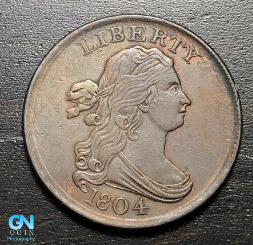 1804 Draped Bust Half Cent --  MAKE US AN OFFER! #B3440