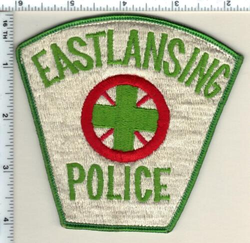 East Lansing Police (Michigan) Uniform Take-Off Shoulder Patch from 1991