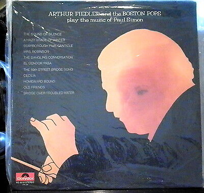 Arthur Fiedler & the Boston Pops Play the Music of Paul Simon   Polydor
