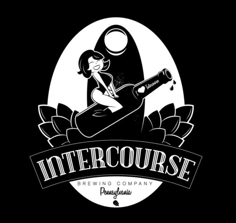 Intercourse Brewing Company Sticker decal craft Brewery Micro Pennsylvania PA