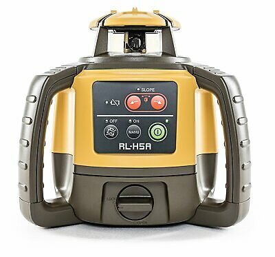 Clearance- Topcon Rl-h5a Horizontal Self-leveling Rotary Laser Ls-80l Receiver