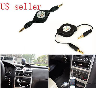 Ipod Nano Aux Cable (3.5mm Car Aux Cable for iPod Nano 2 3 4 5 4G 5G iPhone 4 4S 5 5C 5S )