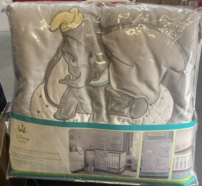 Baby Bedding Design Disney Dumbo Dream Big 3 Piece Crib Bedding Set Baby Nursery