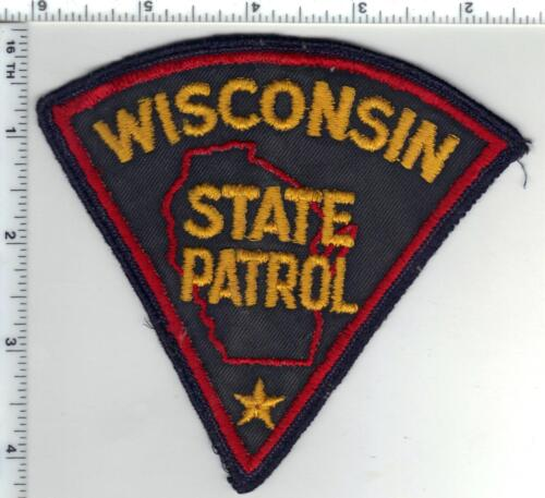 State Patrol (Wisconsin) 1st Issue Uniform Take-Off Shoulder Patch