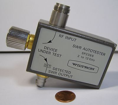 Anritsu Wiltron Swa Autotester Model Sp2369 2-12ghz
