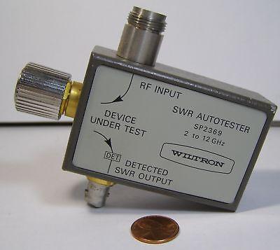 Anritsu Wiltron Swa Autotester Model Sp2369 2-12ghz