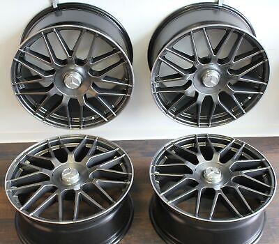 19 Zoll Felgen MW07 Mercedes A176 C204 CLA45 CLA B E213/4 R1EC M GLA AMG Grau