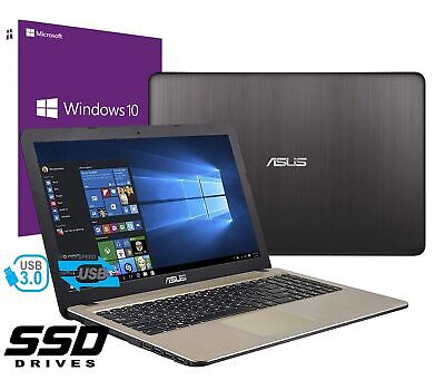 "Notebook Asus Vivobook 15,6"" AMD A4-9125 2,6GHZ RAM 4GB SSD 256GB WINDOWS 10 PRO"