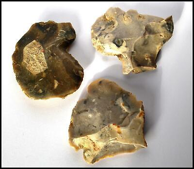 STONE AGE 3 neolithic mesolithic flint tools scrapers british Archaeology