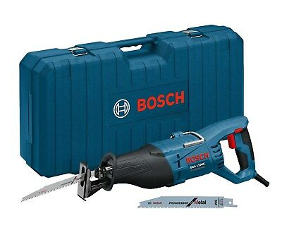 Bosch Säbelsäge GSA 1100 E im Koffer mit 2 Sägeblätter