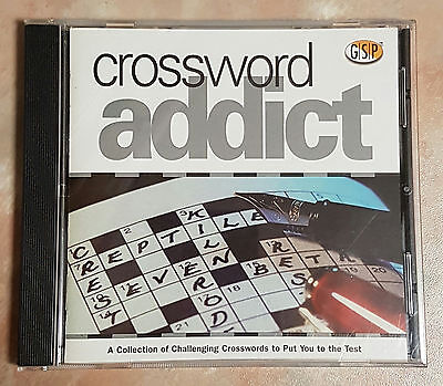 Crossword Addict - PC CD-ROM