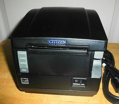 Citizen Ct-s651 Point Of Sale Thermal Receipt Printer - Serial Port