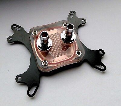 CPU Prozessor Wasserkühler | Wasserkühlung | INTEL und AMD | Kupfer | neu
