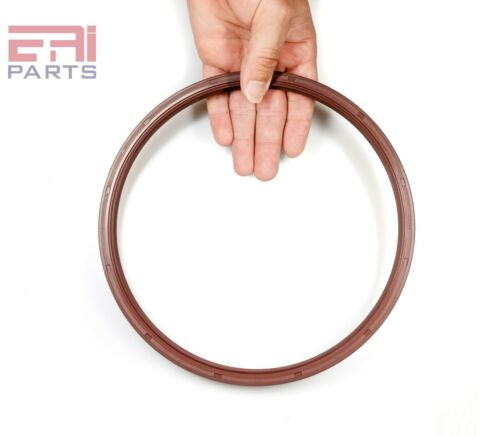 EAI Viton Oil Shaft Seal 195x215x15mm Grease Dbl Lip w/ Stainless Steel Spring