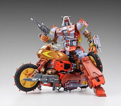 IN STOCK New Transformers  KFC EAVI METAL PHASE 6 Dumpyard Metal Color