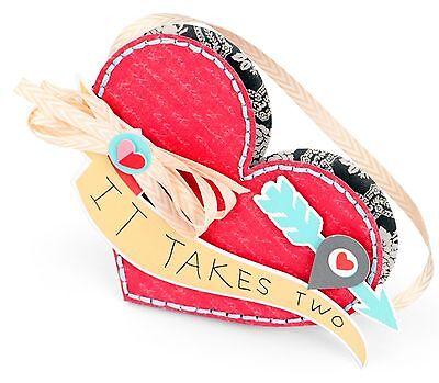 Sizzix Bigz Heart (Sizzix Bigz Heart Pocket die #660796 MSRP $19.99 by Echo Park Paper, cuts)
