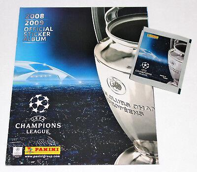 Panini UEFA CHAMPIONS LEAGUE 2008/2009 08/09 - LEERALBUM EMPTY ALBUM MINT!