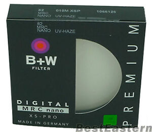 B+W 82mm XS-PRO MRC 010M Nano UV Haze Digital Filter - Made In Germany # 1066126