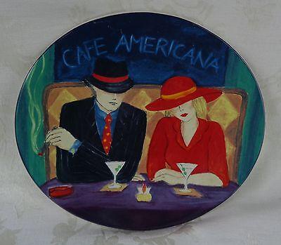 Sango Dinnerware Cafe Americana Salad Plate