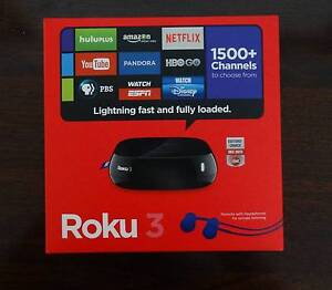 ROKU 3 Digital HD Media Streamer Mulgrave Monash Area Preview
