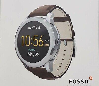 Fossil Q Gen 2 Q Founder Dark Brown Leather Touchscr Smart Watch