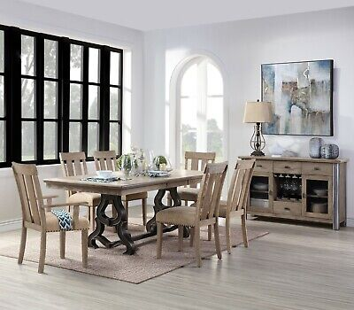 Acme Furniture Nathaniel 7 Piece Dining Room Set Acme Furniture Set Chair