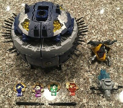 Transformers Cybertron Supreme Primus with Unicron Head and Gold Planet Keys