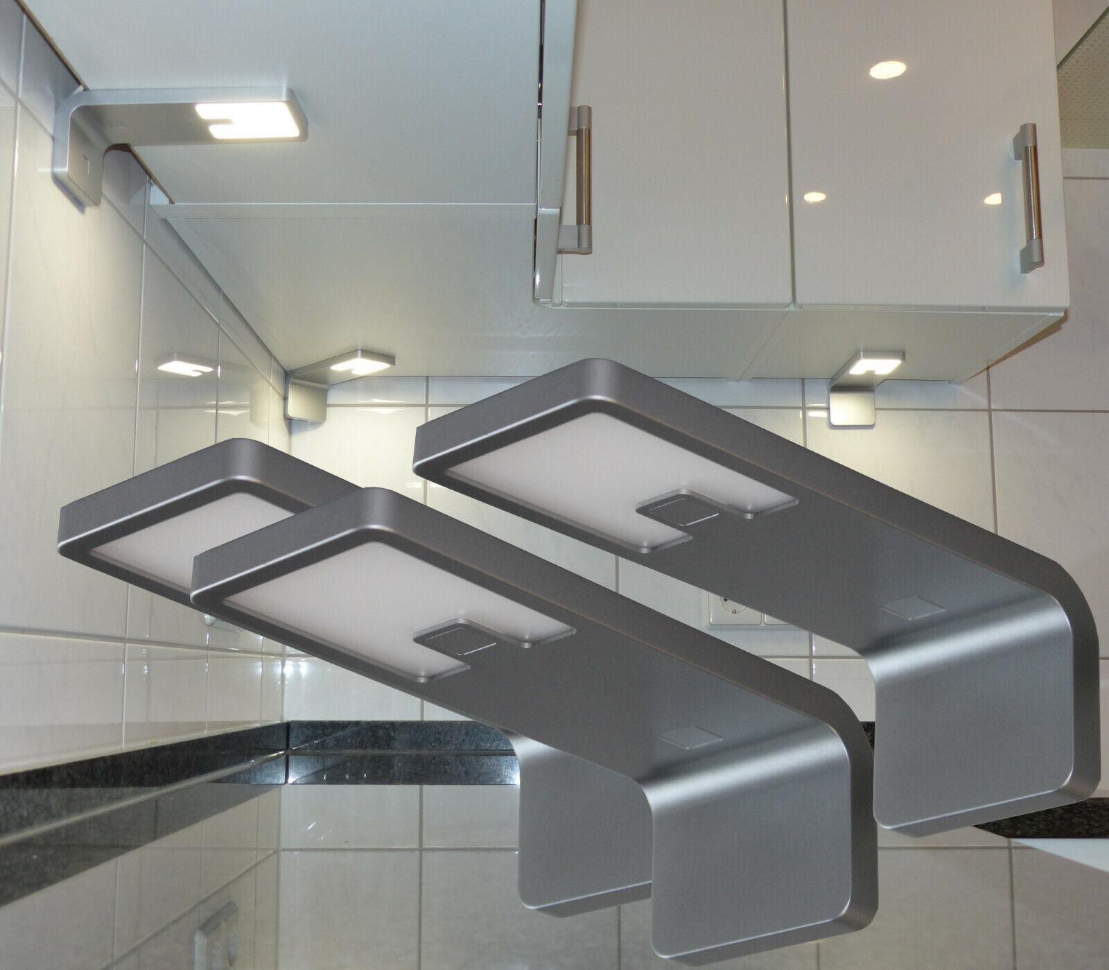 3x Led Unterbauleuchte Möbelleuchten Küchenleuchten Schrank Beleuchtung #2215