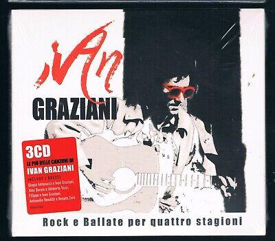 IVAN GRAZIANI FIRENZE LUGANO NO STOP 2 CD F.C.SIGILLATO!!!