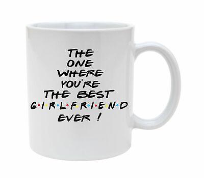 Best Girlfriend Mug Friends Central Perk Personalised Birthday Gift